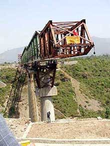 Travel to Pahalgam Udhampur Railways Bridge Construction